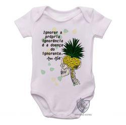 Roupa Bebê Amos Alcott ignorância