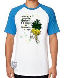 Camiseta Raglan Amos Alcott ignorância