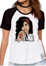 Blusa Feminina Amy Winehouse retrô