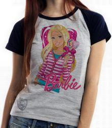 Blusa Feminina Barbie coração