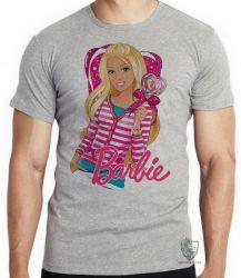 Camiseta Barbie coração