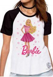 Blusa Feminina Barbie rosa