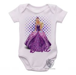 Roupa Bebê Barbie roxa