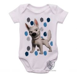 Roupa Bebê Bolt manchas