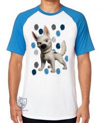 Camiseta Raglan Bolt manchas