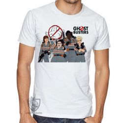 Camiseta Caça Fantasmas mulheres