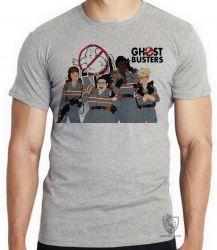 Camiseta Infantil Caça Fantasmas mulheres