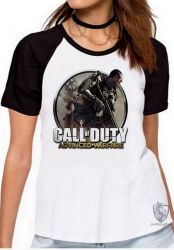 Blusa Feminina Call of Duty  advanced warfare