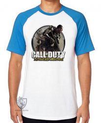 Camiseta Raglan Call of Duty  advanced warfare