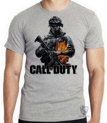 Camiseta Call of Duty  soldado