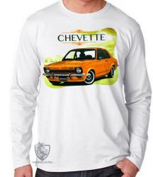 Camiseta Manga Longa Chevette Brasil
