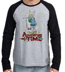 Camiseta Manga Longa Fiona Hora da Aventura
