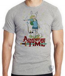 Camiseta Infantil Fiona Hora da Aventura