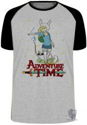 Camiseta Raglan Fiona Hora da Aventura