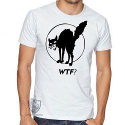 Camiseta Gato WTF