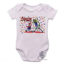 Roupa Bebê Jake Finn Mario Luigi