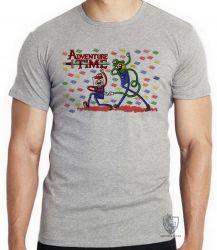 Camiseta Jake Finn Mario Luigi