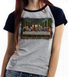 Blusa Feminina A última ceia Da Vinci
