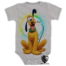 Roupa Bebê  Pluto cachorro Mickey