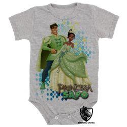 Roupa Bebê  Princesa e o Sapo Naveen