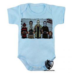 Roupa Bebê Jason Chucky Freddy Krueger