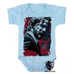 Roupa Bebê John Wick sangue