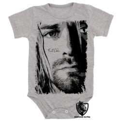 Roupa Bebê Kurt Cobain face